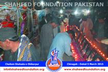 Chelum Shikarpur Bomb Blast - Candlelight