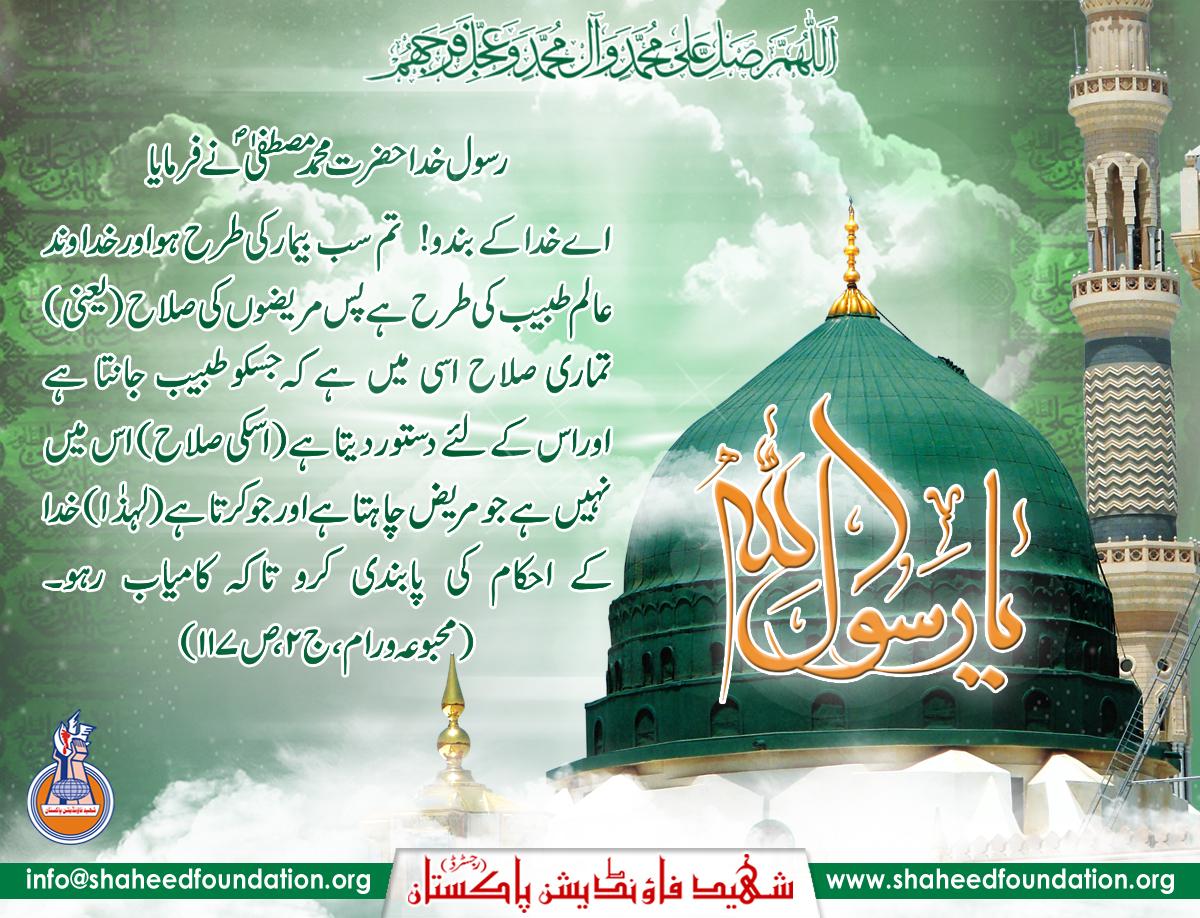 Hafta-e-Wahdat-e-Islami (12 - 17 Rabiul Awwal) 2015