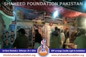 Shikarpur: Candle Light and Picture Exibition at 1st Barsi Shohada e Shikarpur