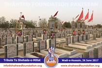 Tribute to Shohada on Eid-ul-Fitr (1438 H)